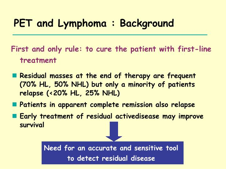 First and only rule: to cure the patient with first-line treatment