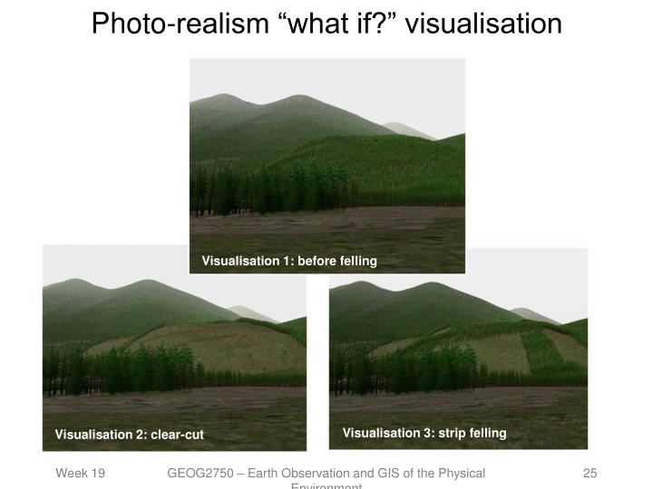 "Photo-realism ""what if?"" visualisation"