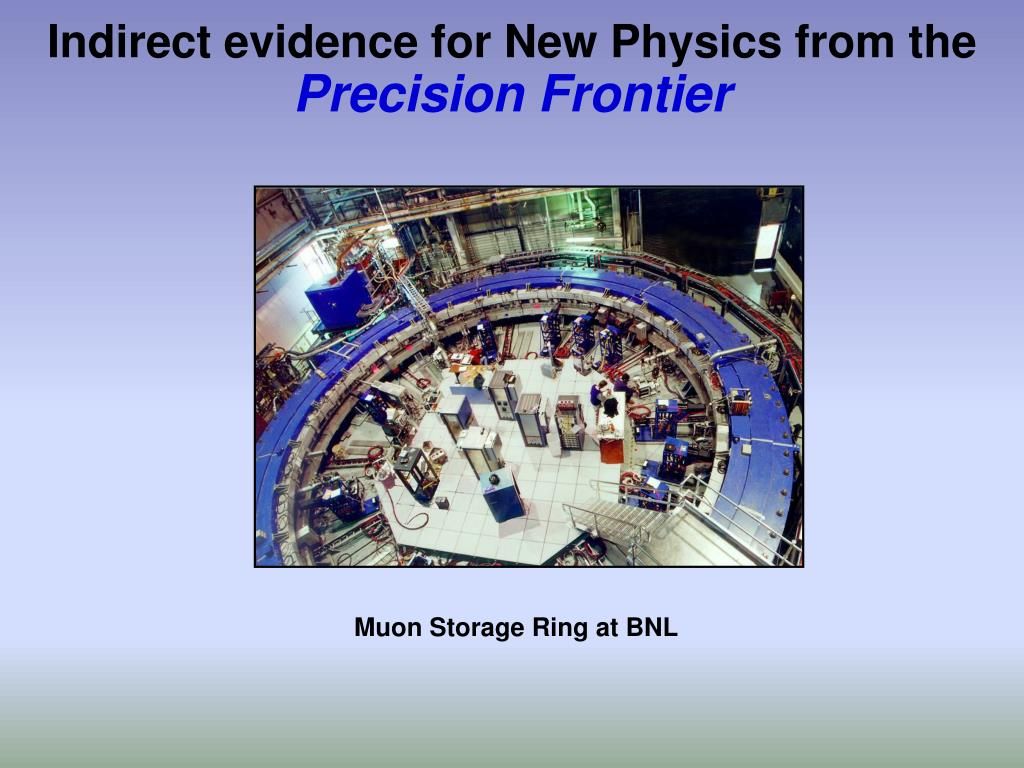 Indirect evidence for New Physics from the