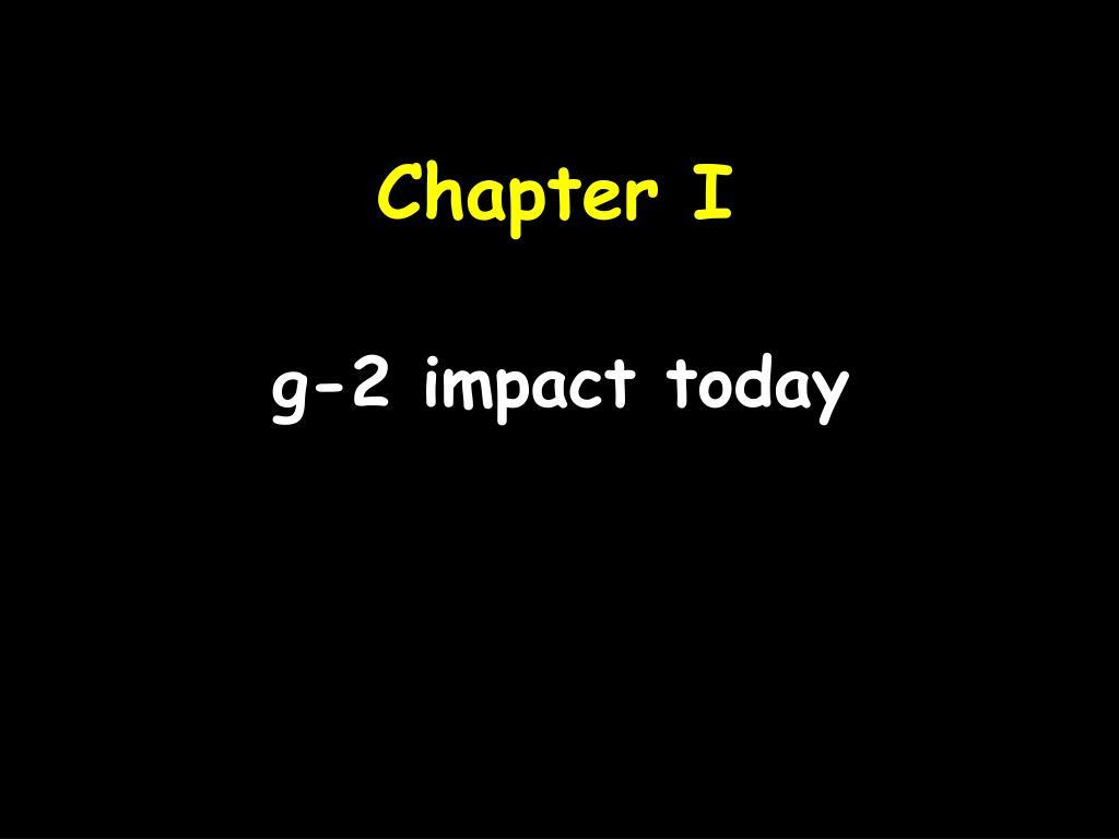 g-2 impact today