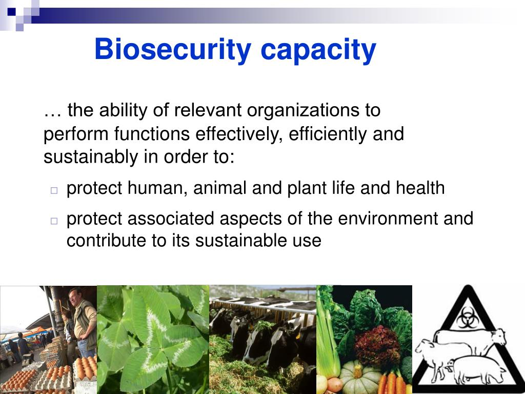 Biosecurity capacity