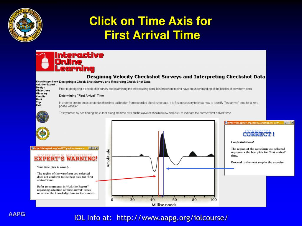 Click on Time Axis for