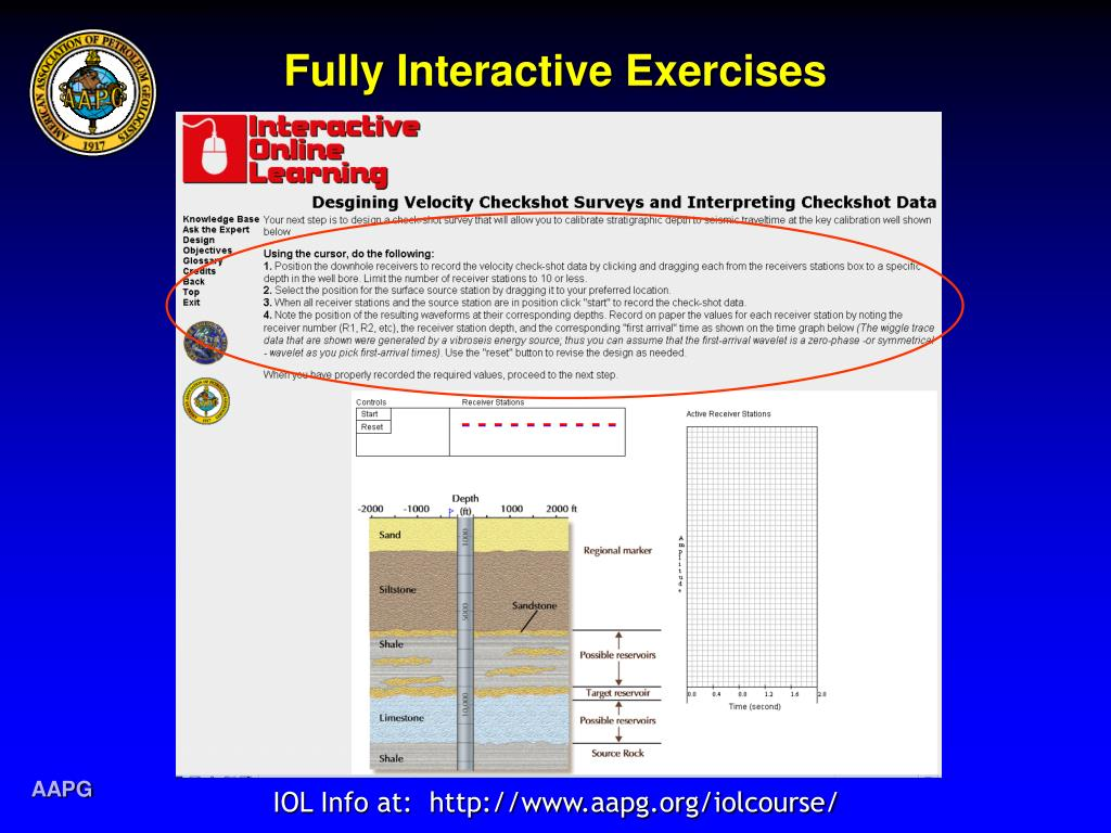 Fully Interactive Exercises