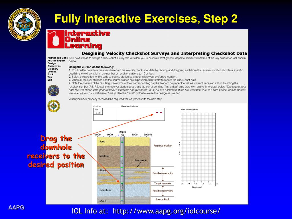 Fully Interactive Exercises, Step 2