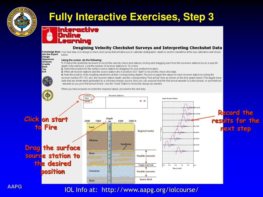 Fully Interactive Exercises, Step 3