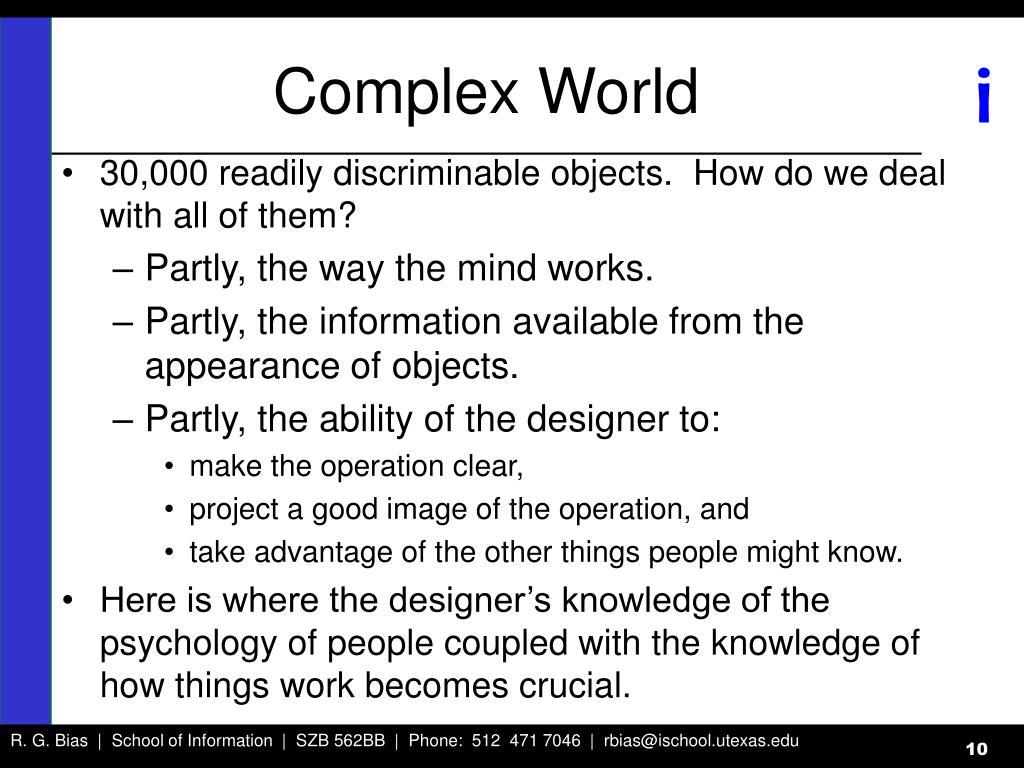 Complex World