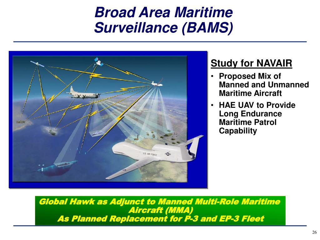 Broad Area Maritime Surveillance (BAMS)