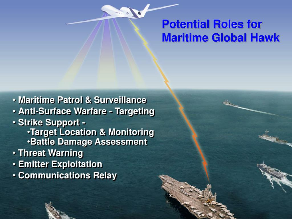 Potential Roles for Maritime Global Hawk