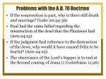 problems with the a d 70 doctrine3