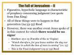 the fall of jerusalem ii1