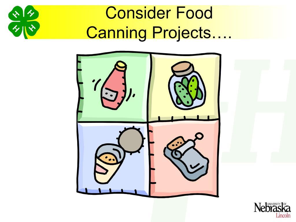 Consider Food