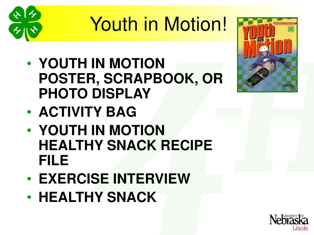 Youth in Motion!