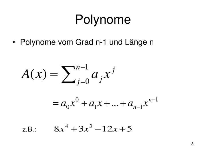 Polynome