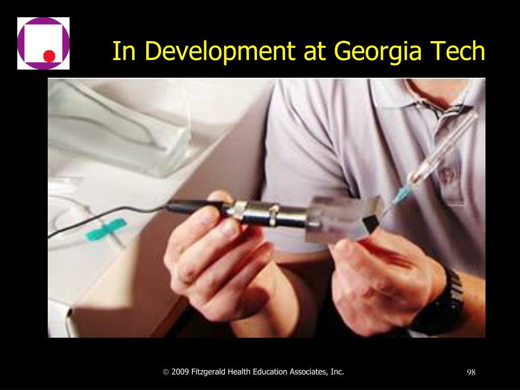 In Development at Georgia Tech
