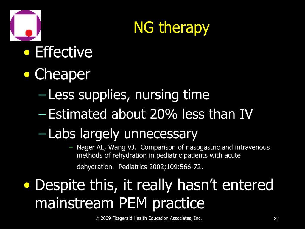 NG therapy