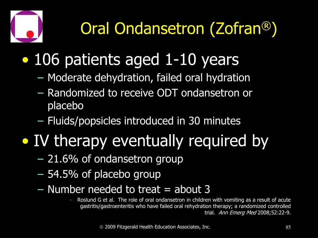 Oral Ondansetron (Zofran