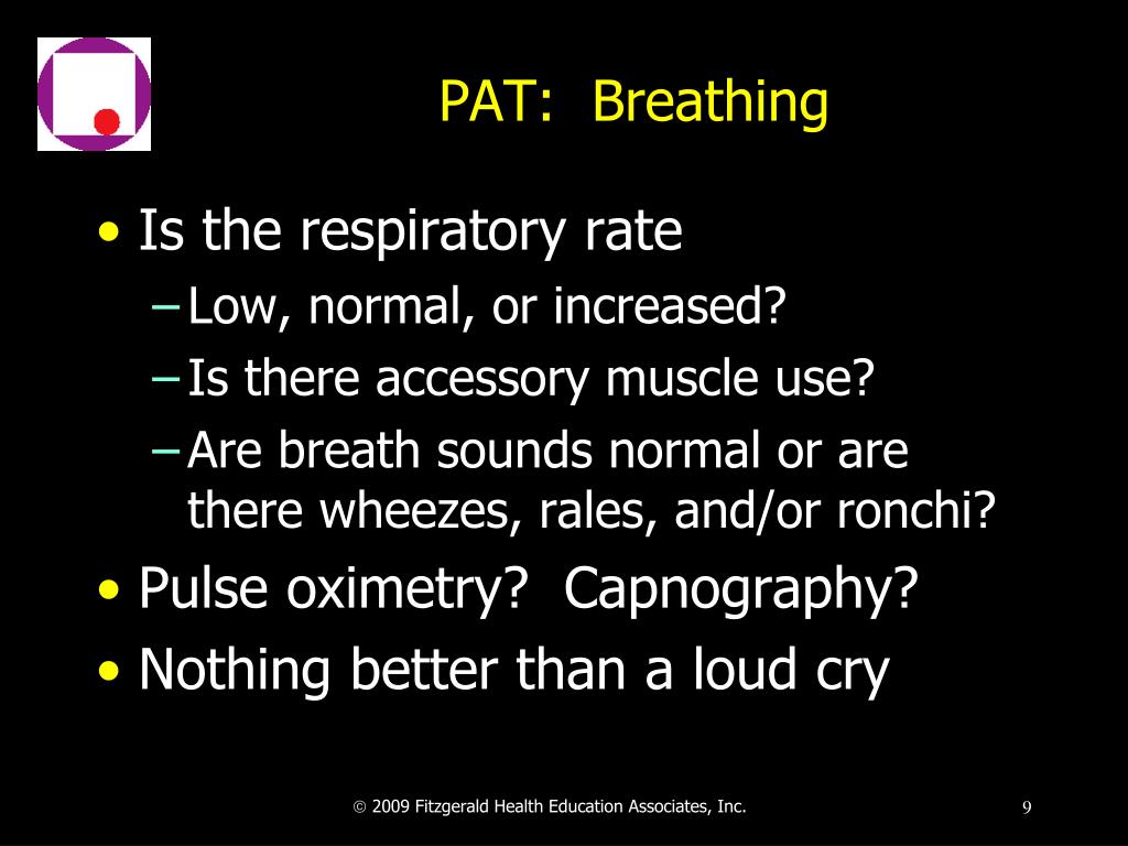PAT:  Breathing