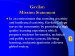 gavilan mission statement