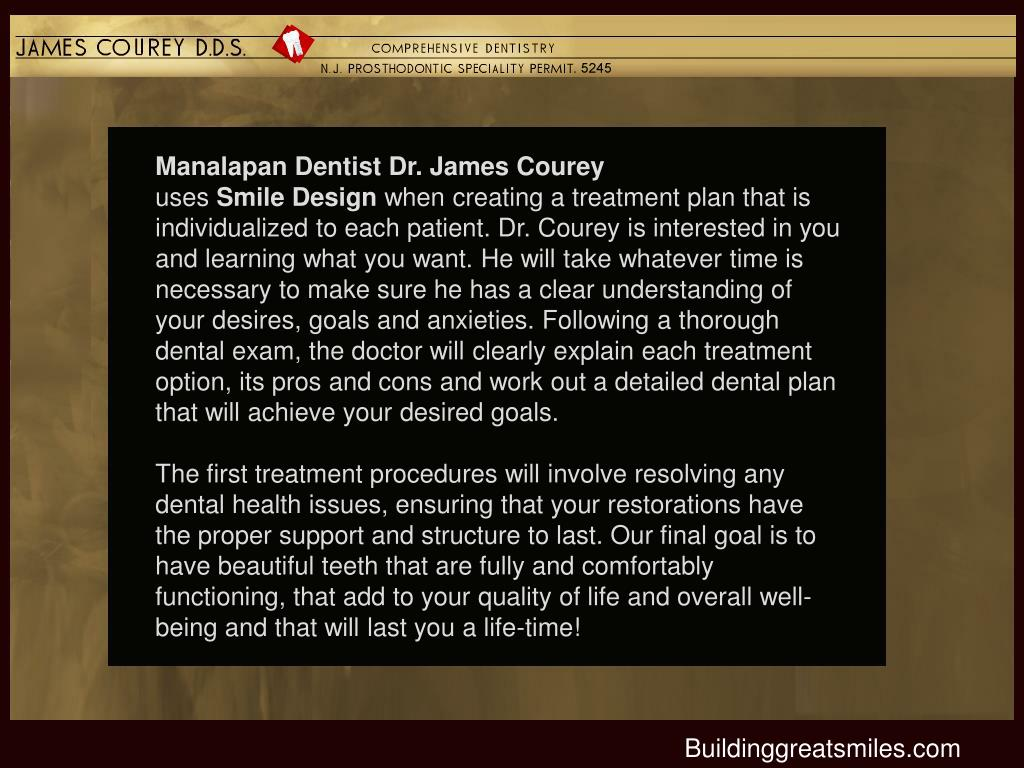 Manalapan Dentist Dr. James Courey