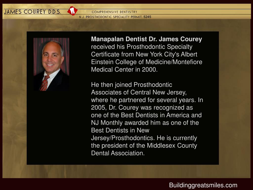 Manapalan Dentist Dr. James Courey