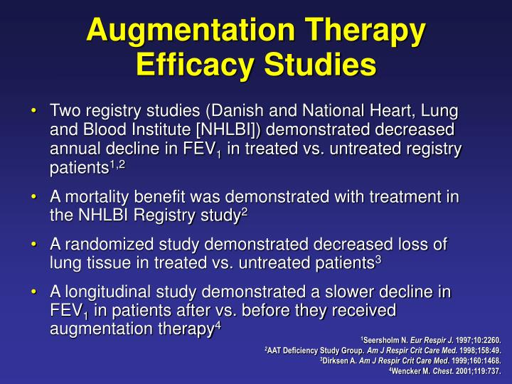 Augmentation Therapy