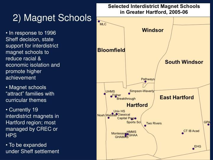 2) Magnet Schools