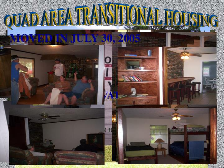 QUAD AREA TRANSITIONAL HOUSING