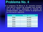 problema no 4