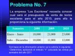 problema no 7