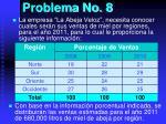 problema no 8