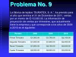 problema no 9