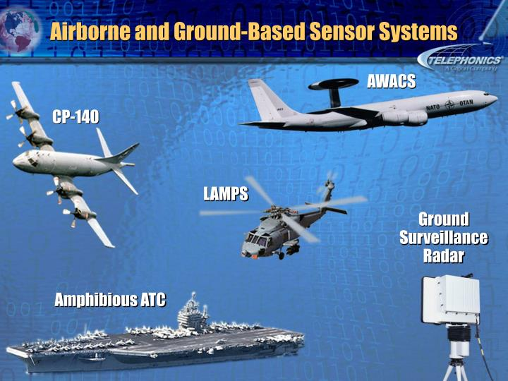 Airborne and Ground-Based Sensor Systems