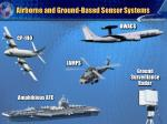 airborne and ground based sensor systems