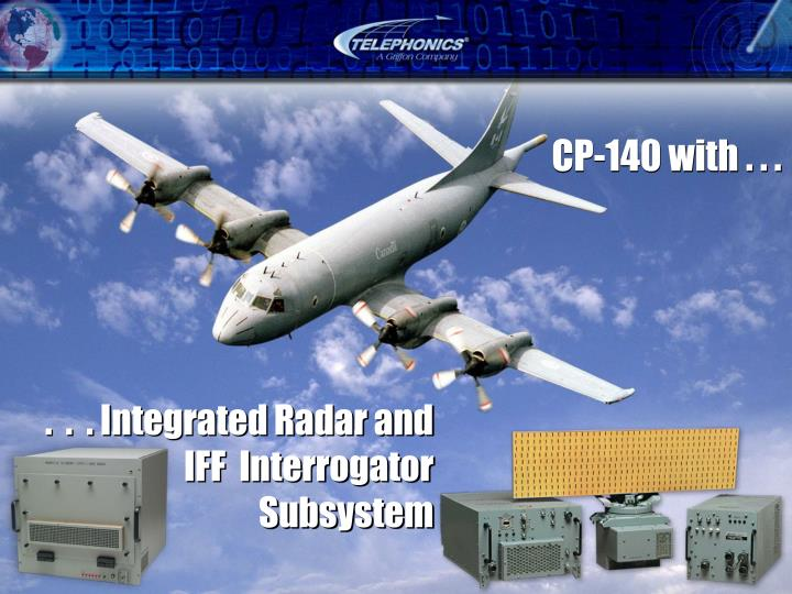 .  .  . Integrated Radar and