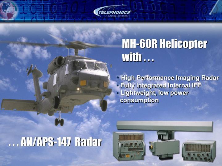 . . . AN/APS-147  Radar
