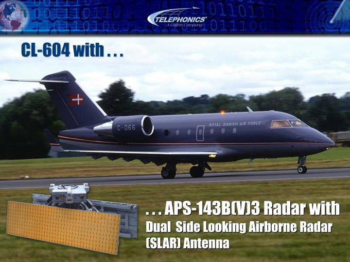 . . . APS-143B(V)3 Radar with