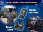 trulink wireless intercommunications