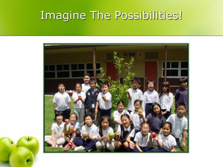 Imagine The Possibilities!