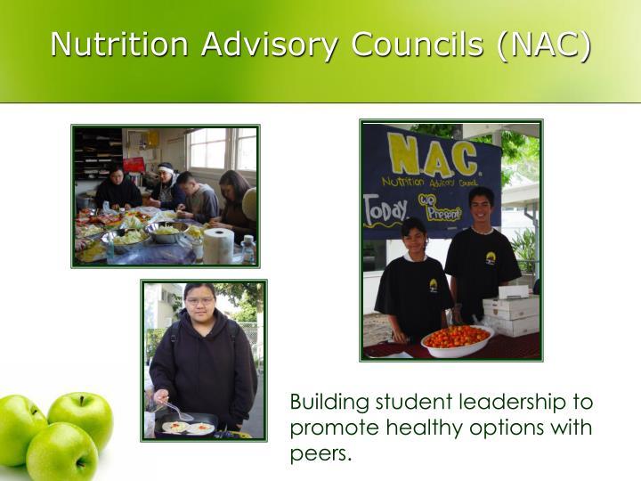 Nutrition Advisory Councils (NAC)