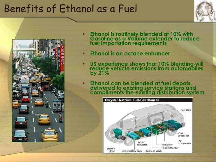 Benefits of Ethanol as a Fuel