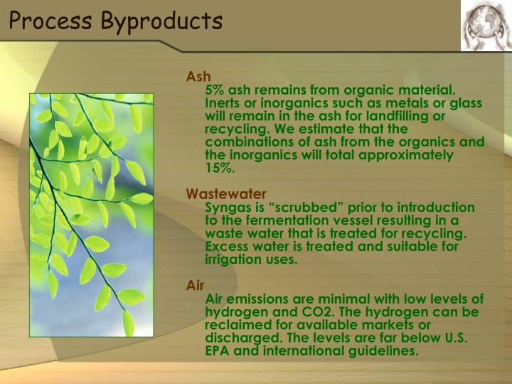 Process Byproducts