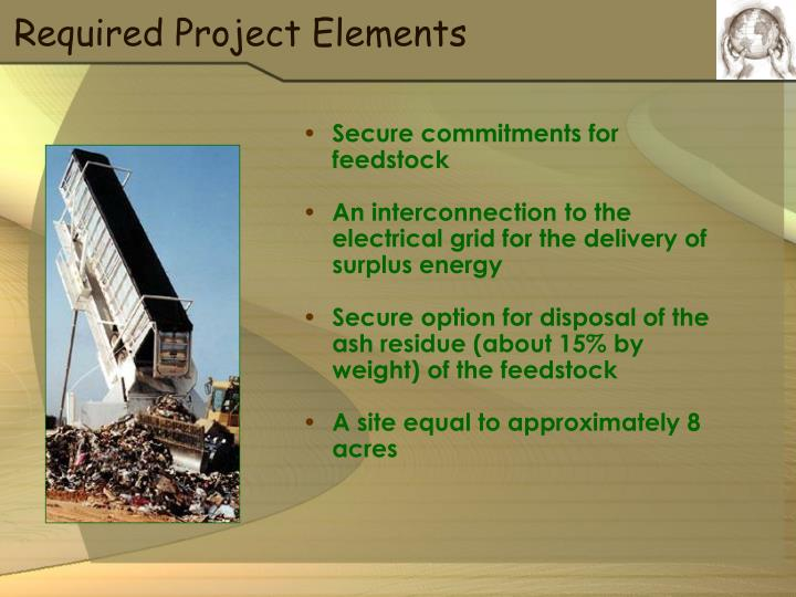 Required Project Elements