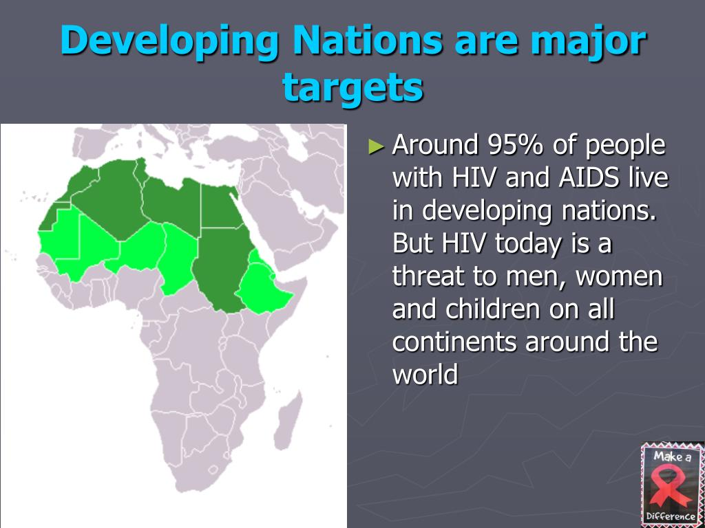 Developing Nations are major targets
