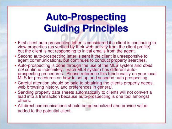 Auto-Prospecting