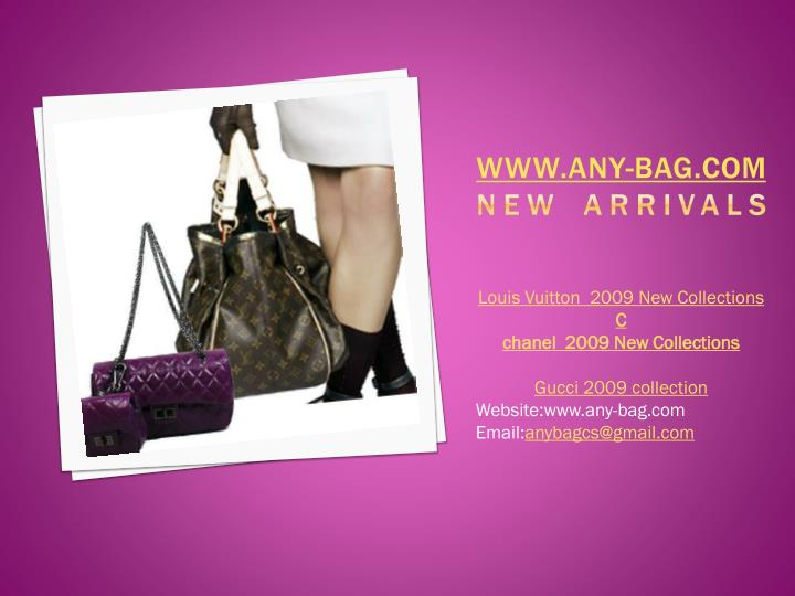 Www any bag com new arrivals