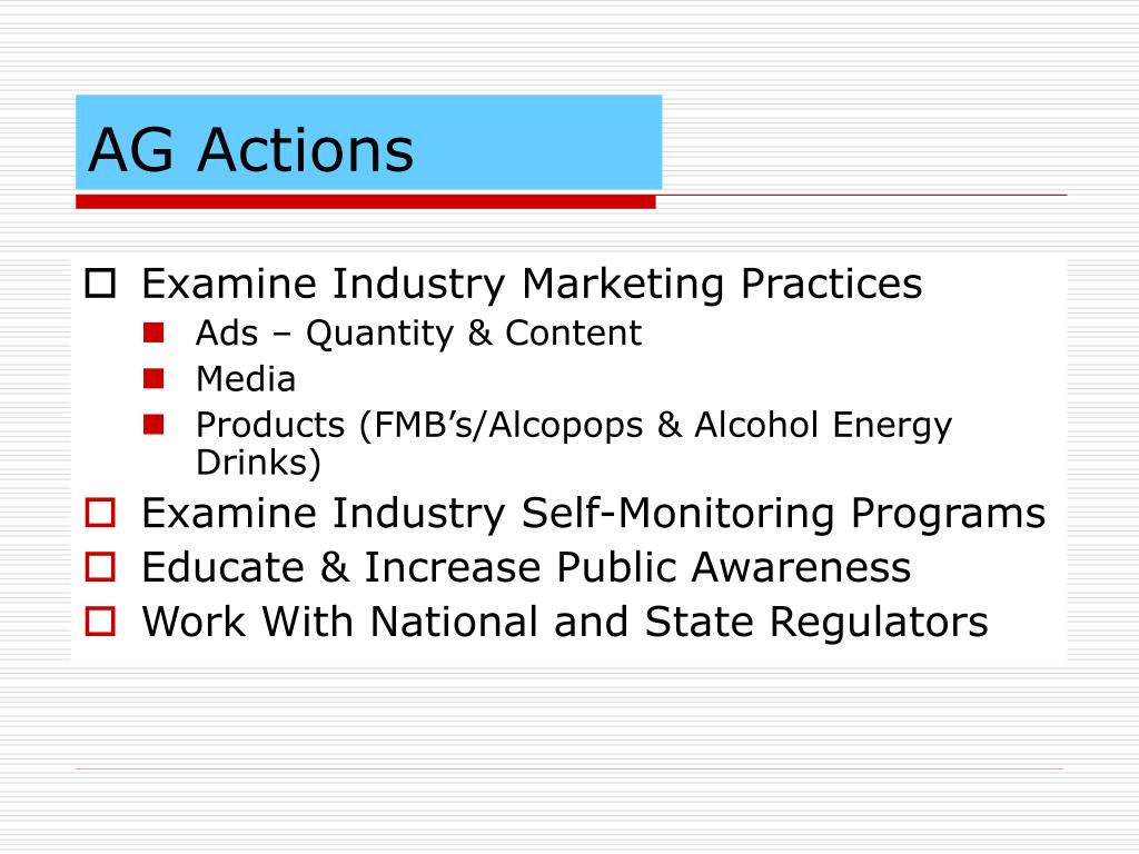 AG Actions