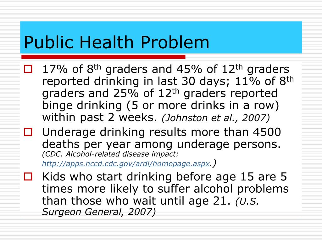 Public Health Problem