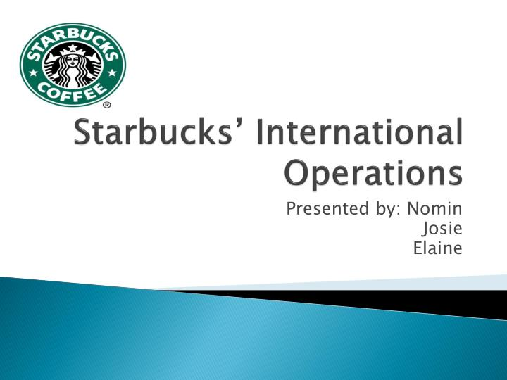 starbucks operational planning policies A new book offers a glimpse behind starbucks' massive success pour yourself a cup of inspired leadership, and maybe you can caffeinate your business if you're an entrepreneur in need of an energy jolt, odds are that you head straight to starbucks.