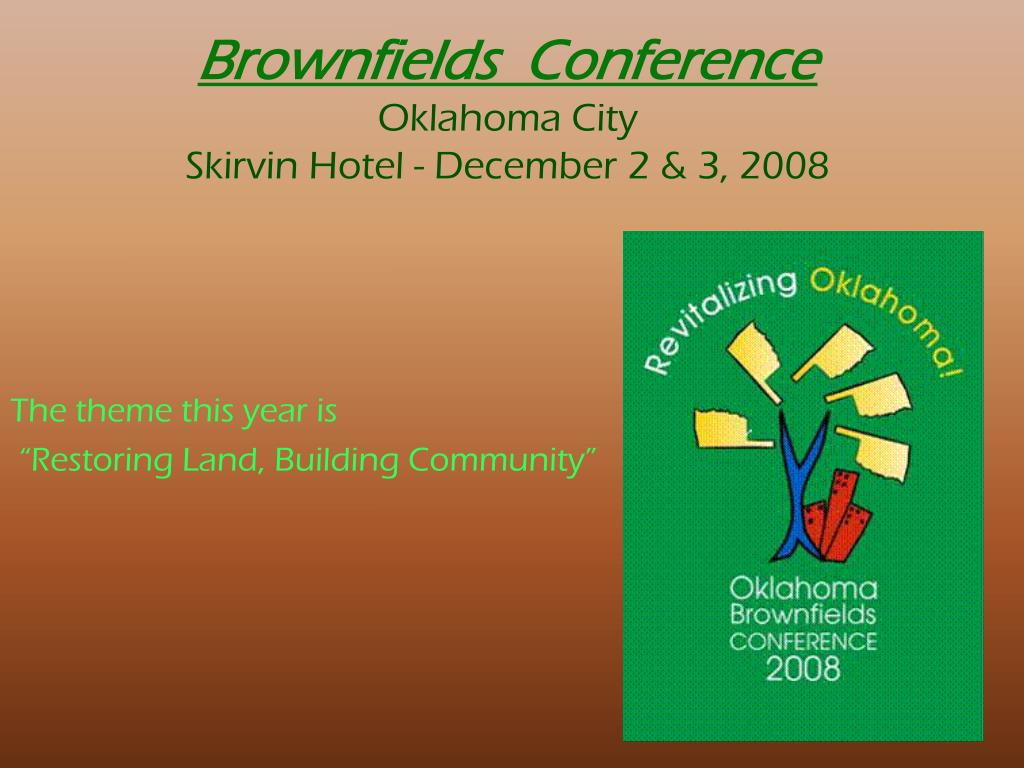 Brownfields  Conference
