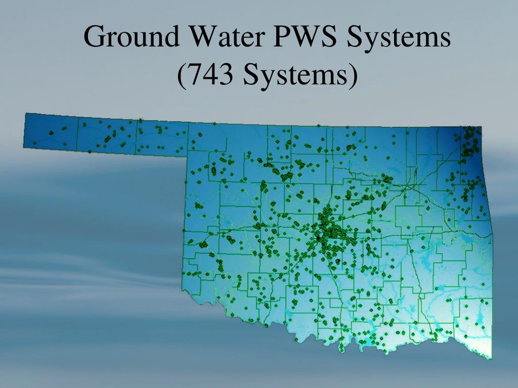 Ground Water PWS Systems